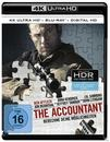 The Accountant (4K Ultra HD BLU-RAY + BLU-RAY) für 24,99 Euro