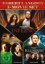 The Da Vinci Code - Sakrileg, Illuminati, Inferno DVD-Box (DVD) für 28,99 Euro