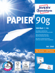 Format Papier Drucker- und Kopierpapier A4 90g 500 Blatt