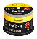 DVD-R Rohlinge 4,7GB 50er Spindel Schreibgeschwindigkeit 16x