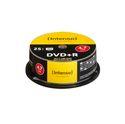 DVD+R Rohlinge 4,7GB 25er Spindel 16x