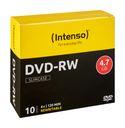 DVD-RW Rohlinge 4,7GB 10er-Slimcase Schreibgeschwindigkeit 4x