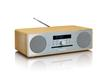 DAR-070 Music Center DAB+/FM Radio CD Bluetooth USB AUX-IN (Eiche, Silber)