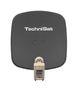 DigiDish 45 DigitalSat-Antenne 45cm Universal-Twin-LNB (Grau)