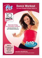 10 Minute Solution: Dance Workout - Bauch, Beine, Po (DVD) für 9,99 Euro