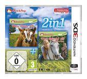 2in1: Mein Fohlen 3D + Mein Reiterhof 3D - Rivalen im Sattel (Nintendo 3DS) für 20,00 Euro
