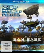 3D Masterpieces: San Base - Function of Reality (BLU-RAY + BLU-RAY 3D) für 9,99 Euro