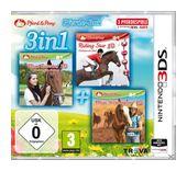 3in1 Pferde-Box (Software Pyramide) (Nintendo 3DS) für 20,00 Euro