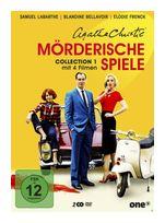 Agatha Christie - Mörderische Spiele. Collection 1 - 2 Disc DVD (DVD) für 21,99 Euro