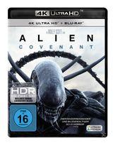 Alien: Covenant - 2 Disc Bluray (4K Ultra HD BLU-RAY + BLU-RAY) für 24,99 Euro