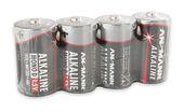 Ansmann 5015581 Alkaline-Batterie Mono D LR20 1,5V 4er Pack für 6,99 Euro