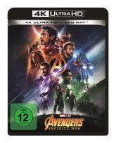 Avengers: Infinity War (4K Ultra HD BLU-RAY + BLU-RAY) für 33,99 Euro