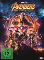 Avengers: Infinity War (DVD) für 13,99 Euro
