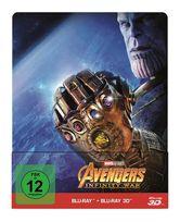 Avengers: Infinity War Steelbook (BLU-RAY 3D/2D) für 27,99 Euro