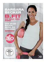 Barbara Becker - B.FIT mit Ball und Band - Das Miami Bauch-Beine-Po Training intensiv (DVD) für 16,99 Euro