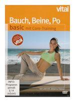 Bauch, Beine, Po basic mit Core-Training - Vital (DVD) für 10,99 Euro