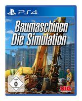 Baumaschinen: Die Simulation (PlayStation 4) für 27,99 Euro