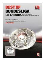 Best of Bundesliga - Die Chronik 1963 - 2016 Limited Collector's Edition (DVD) für 22,99 Euro
