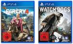 Big Hit Pack: Far Cry 4 & Watch Dogs (PlayStation 4) für 59,99 Euro