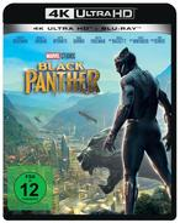Black Panther (4K Ultra HD BLU-RAY + BLU-RAY) für 33,99 Euro