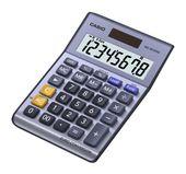 Casio MS-80VERII Taschenrechner 8-stelliges LC-Display Solar-/Batteriebetrieb für 10,99 Euro