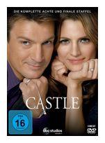 Castle - Staffel 8 DVD-Box (DVD) für 23,99 Euro