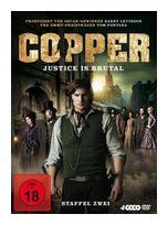 Copper - Justice is brutal - Staffel zwei DVD-Box (DVD) für 16,99 Euro