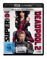Deadpool 2 (4K Ultra HD BLU-RAY + BLU-RAY) für 28,99 Euro