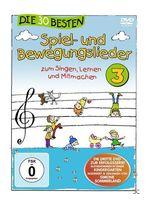 Die 30 Besten Spiel-und Bewegungslieder 3 (DVD) für 12,49 Euro