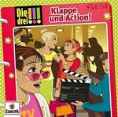 Die drei !!! : Klappe und Action! (54) (CD(s)) für 7,49 Euro