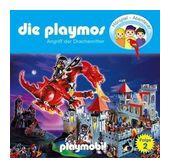 Die Playmos 02: Angriff der Drachenritter (CD(s)) für 6,99 Euro