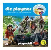 Die Playmos 15: Der Schatz im Dschungeltempel (CD(s)) für 6,99 Euro