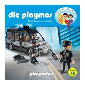 Die Playmos Folge 46: Die Plamos ermitteln (CD(s)) für 6,99 Euro