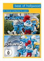 Die Schlümpfe & Die Schlümpfe 2 Best of Hollywood (DVD) für 7,99 Euro