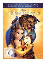 Die Schöne und das Biest Dreierpack DVD-Box (DVD) für 12,99 Euro
