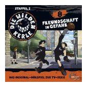 Die wilden Kerle 08: Freundschaft in Gefahr (CD(s)) für 6,99 Euro
