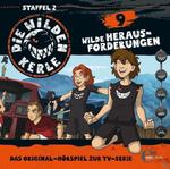 Die wilden Kerle 09: Wilde Herausforderungen (CD(s)) für 6,99 Euro