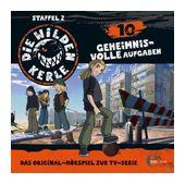 Die wilden Kerle 10: Geheimnisvolle Aufgaben (CD(s)) für 6,99 Euro