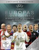 EUROPAS BESTER FUSSBALL - Die größten Spiele - Die schönsten Tore - Die stärksten Spieler Limited Edition (DVD) für 29,99 Euro