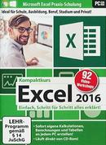 Excel 2016 Kompaktkurs (PC) für 12,99 Euro