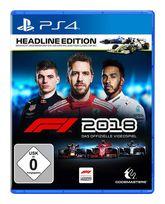 F1 2018 Headline Edition (PlayStation 4) für 69,99 Euro
