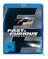 Fast & Furious - 7 Movie Collection Bluray Box (BLU-RAY) für 29,99 Euro