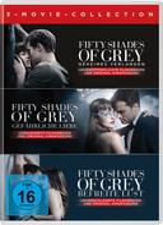 Fifty Shades of Grey 1-3 Movie Edition (DVD) für 24,99 Euro
