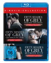 Fifty Shades of Grey 1-3 Movie Edition (BLU-RAY) für 29,99 Euro