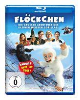 Flöckchen - Die großen Abenteuer des kleinen weißen Gorillas (BLU-RAY) für 14,99 Euro