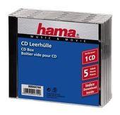 00044744 CD-Leerhülle Standard 5er-Pack für 4,19 Euro