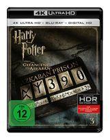 Harry Potter und der Gefangene von Askaban - 2 Disc Bluray (4K Ultra HD BLU-RAY + BLU-RAY) für 29,99 Euro
