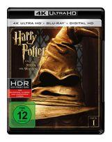 Harry Potter und der Stein der Weisen - 2 Disc Bluray (4K Ultra HD BLU-RAY + BLU-RAY) für 29,99 Euro