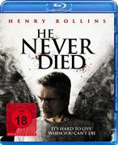He never died (BLU-RAY) für 4,99 Euro