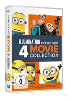 Ich-Einfach Unverbesserlich 1-3 & Minions DVD-Box (DVD) für 19,99 Euro